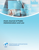 Asian Journal of Public Administration and Law