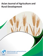 Asian Journal of Agriculture and Rural Development